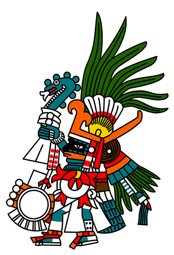 Aztec clipart sun god #12