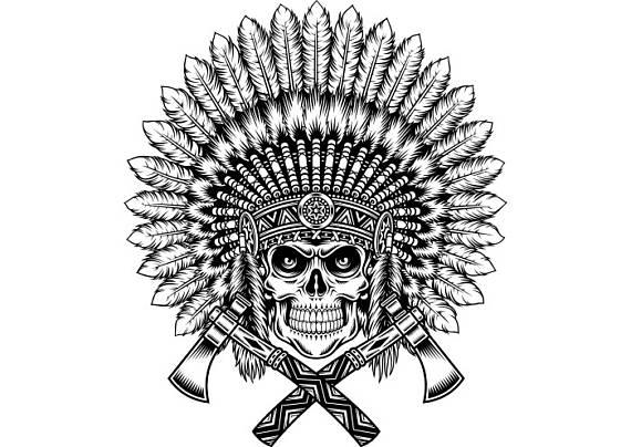 Aztec Warrior clipart indian Clipart #3  American Logo