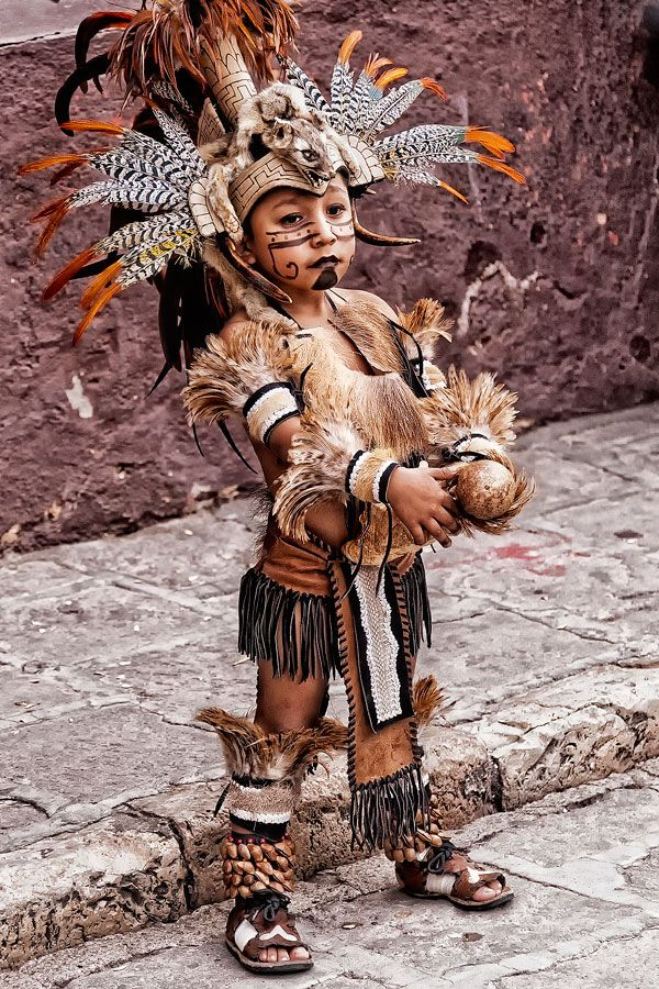 Aztec Warrior clipart mexico city Boy in by: Aztec Miguel
