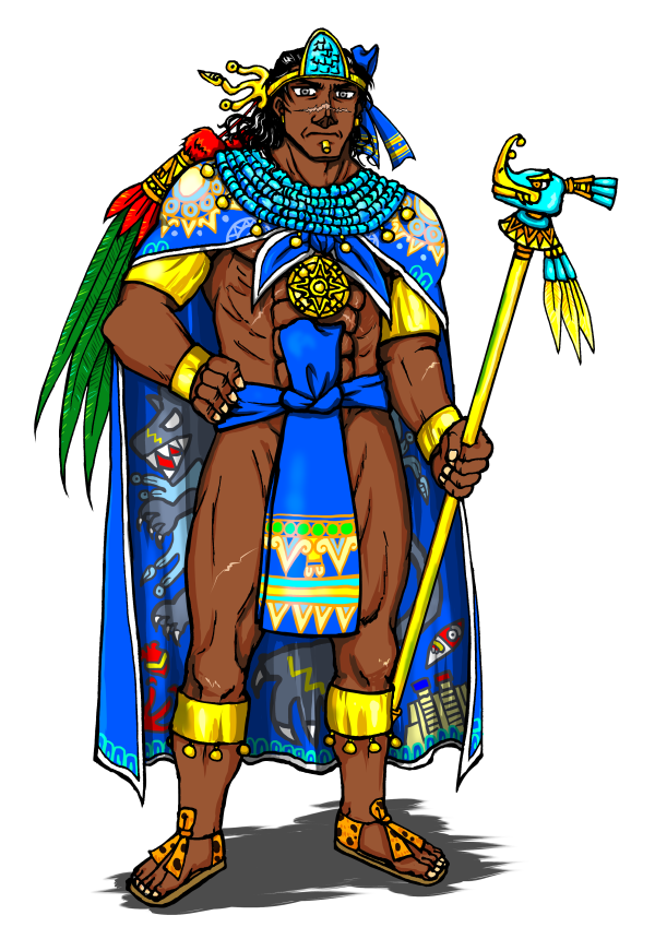 Aztec Warrior clipart princess Warrior Princess And White And