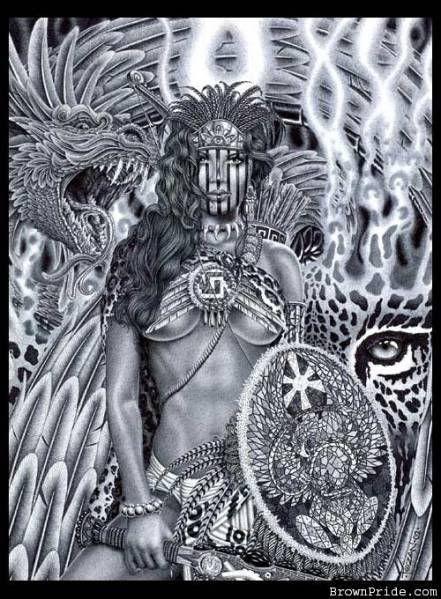 Aztec Warrior clipart princess Tattoo Warriors on warrior 25+
