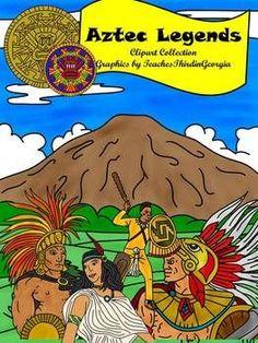Aztec Warrior clipart princess Clip Clip Americas Collection