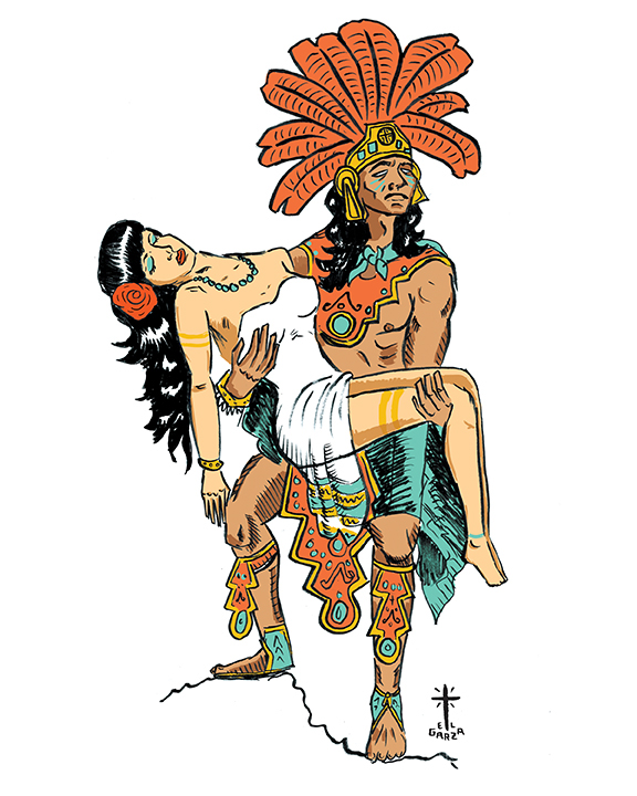 Aztec Warrior clipart princess & Jon Princess Aztec Garza