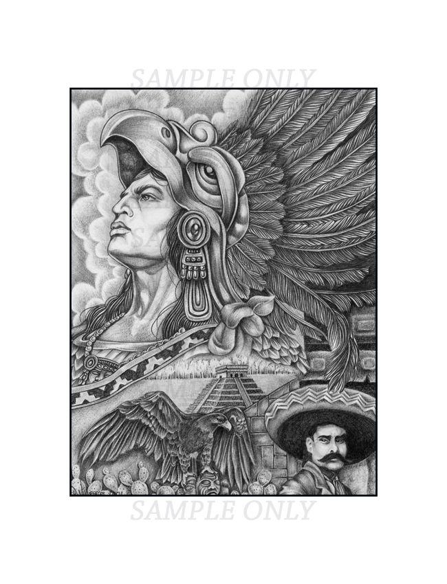 Drawn illuminati hand Tattoos about Drawings Aztec best