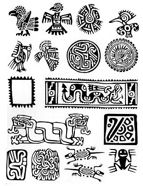 Aztec clipart guatemala #2