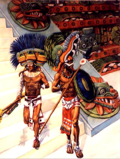 Aztec Warrior clipart teotihuacan #13