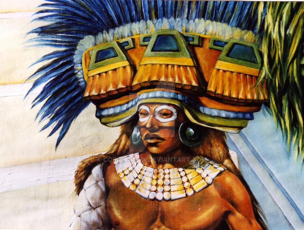 Aztec Warrior clipart teotihuacan #6