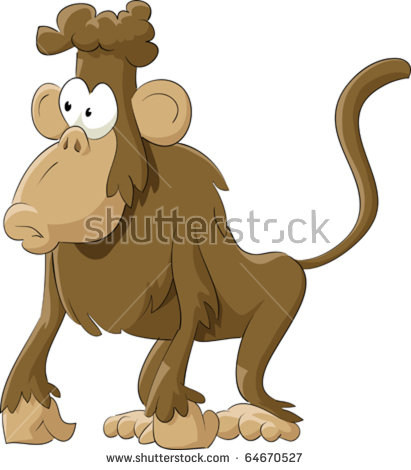 Baboon clipart moneky Collection Baboon clipart free &