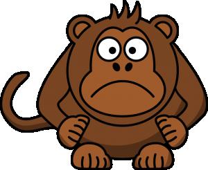 Mandrill clipart Angry Cartoon Baboon Monkey Download