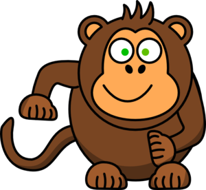 Baboon clipart Clipart Free monkey Cute Monkey
