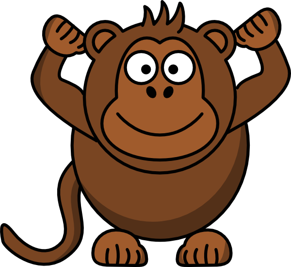 Baboon clipart cartoon This  art as: Download