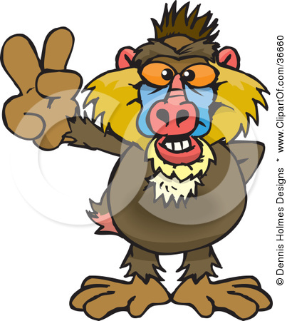 Baboon clipart cute Clipart Clipart Mink Free Images