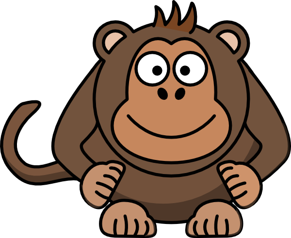 Baboon clipart animated Cute Baboon clipart baboon photo#3