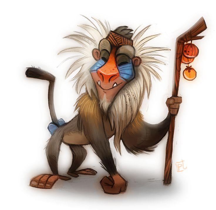 Baboon clipart disney Pinterest Disney on images best