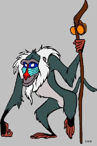 Baboon clipart disney Clip Clip images on on