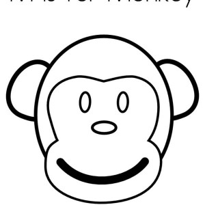 Baboon clipart face Coloring clipart face Baby images