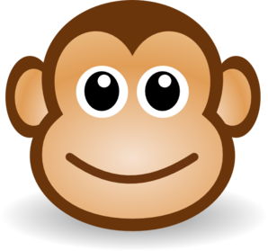 Baboon clipart face Monkey Baby Art Free Clipart