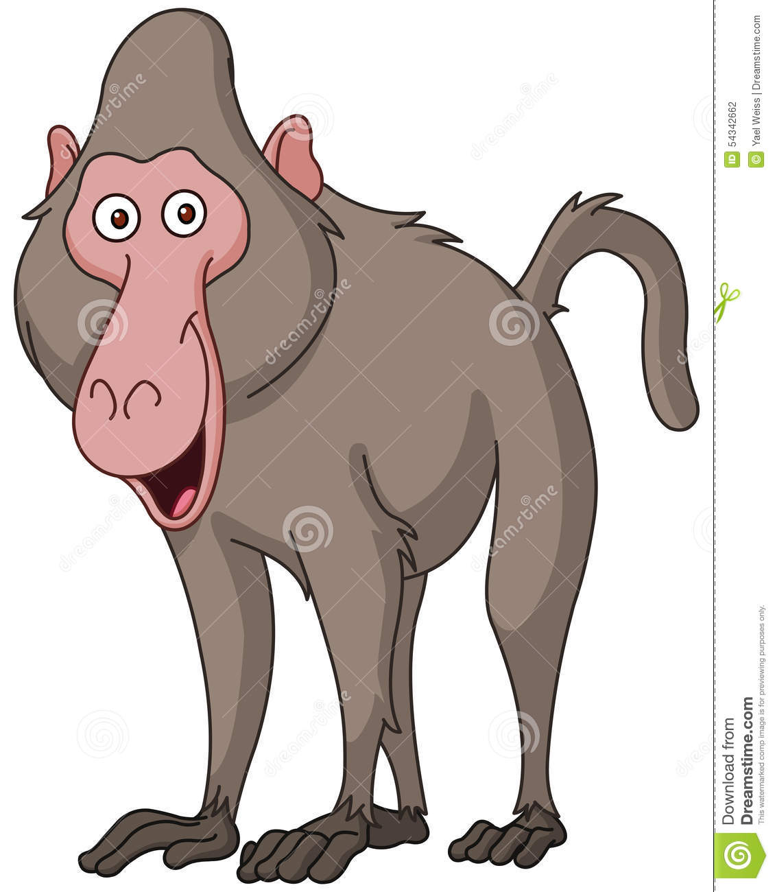 Baboon clipart sacred  Clipart Collection Synkee clipart