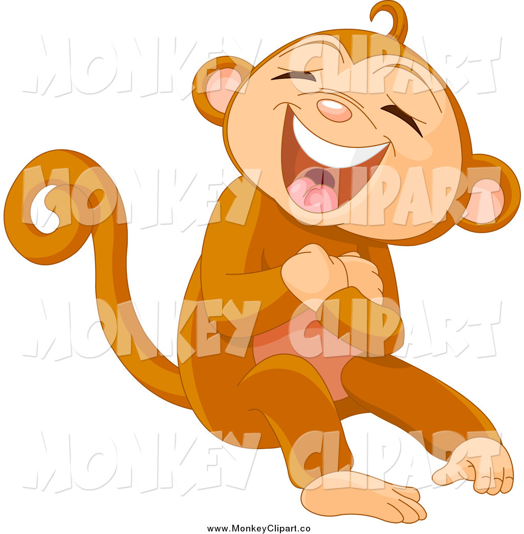Baboon clipart silly monkey Monkey Laughing Monkey Loud 2