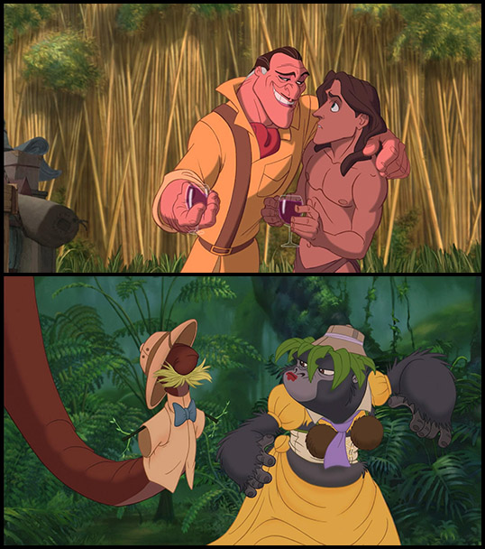 Baboon clipart tarzan What Disney Africa The see: