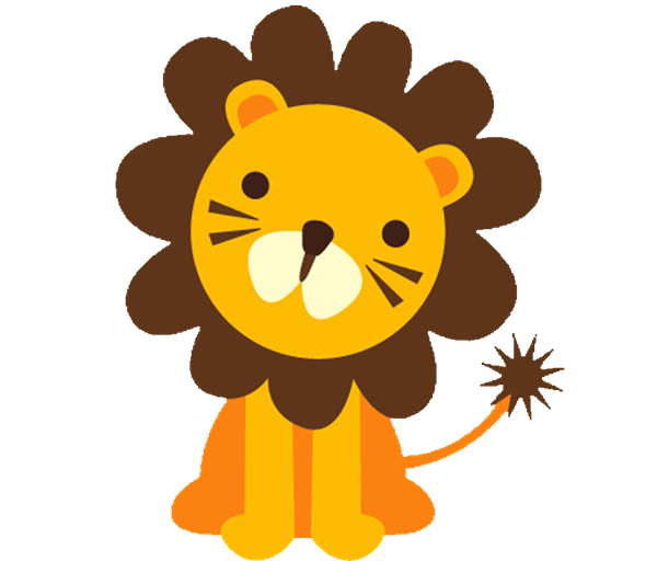 Animal clipart lion Clipart Bay Zoo Animal Shower