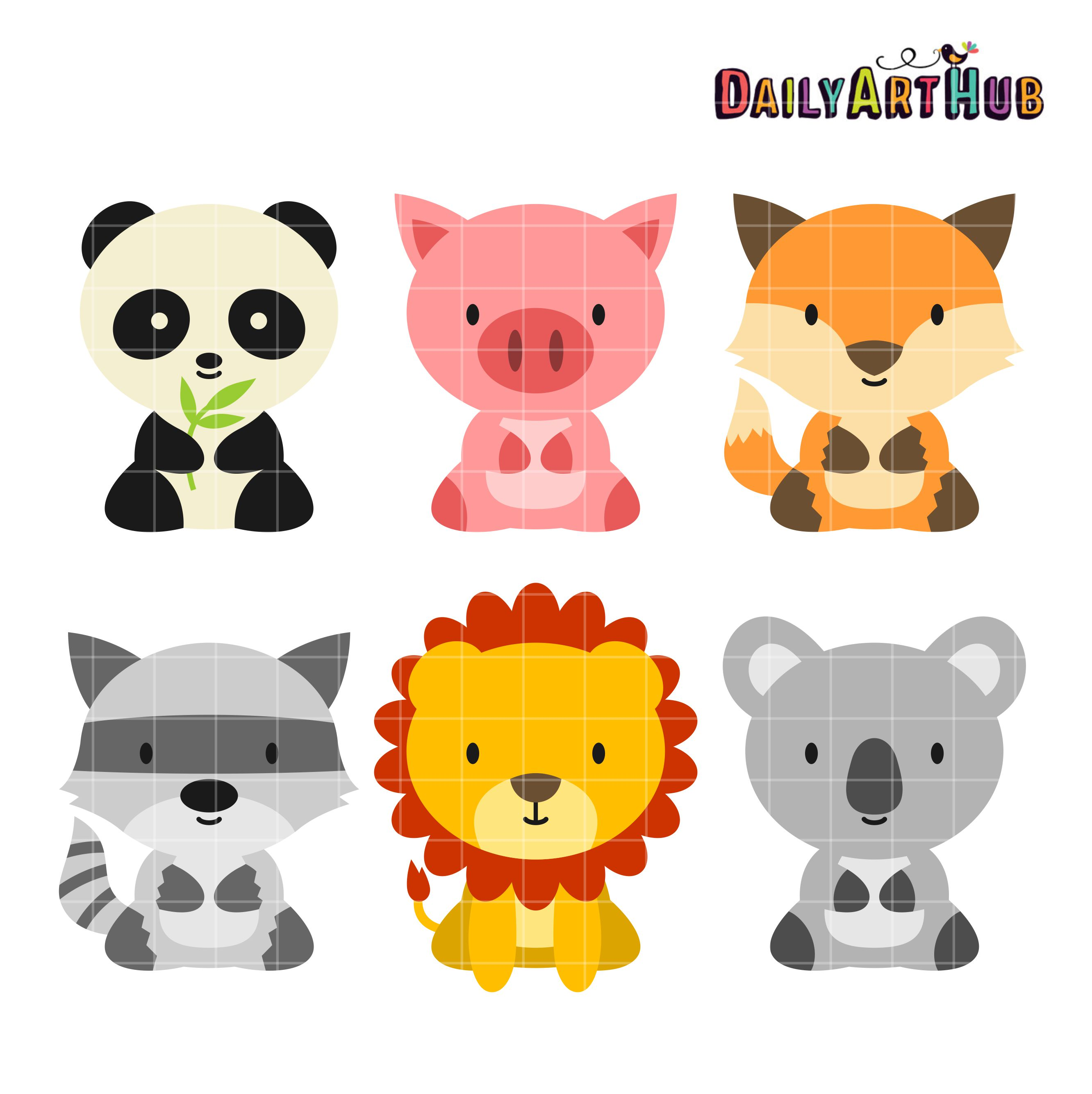 Baby Animal clipart #12