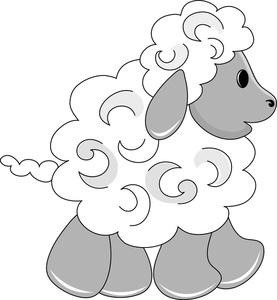 Baby Animal clipart baby lamb Little Image Clip Lamb Art