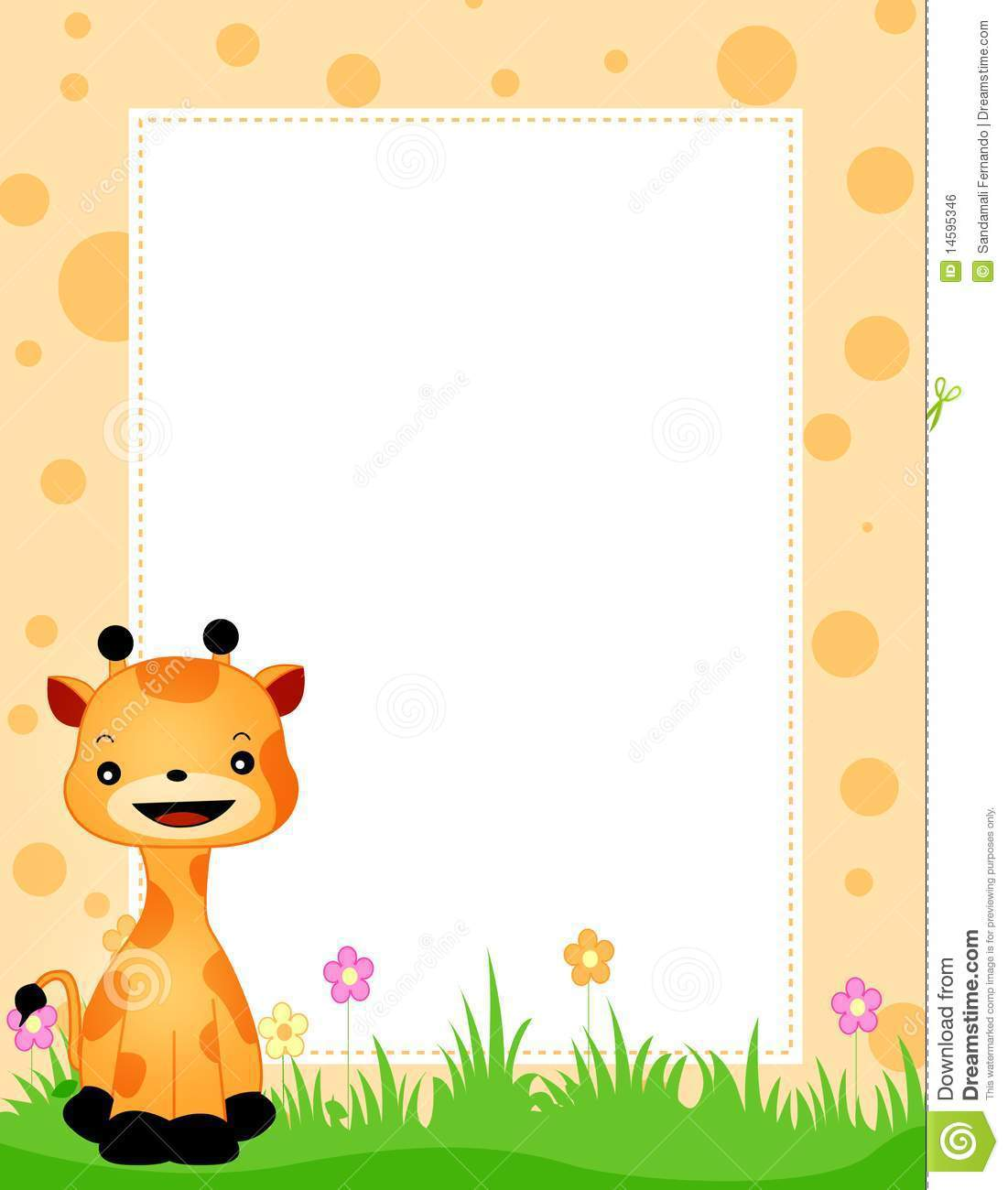 Baby Animal clipart vector art Clipart Clipart Animals Border Animals