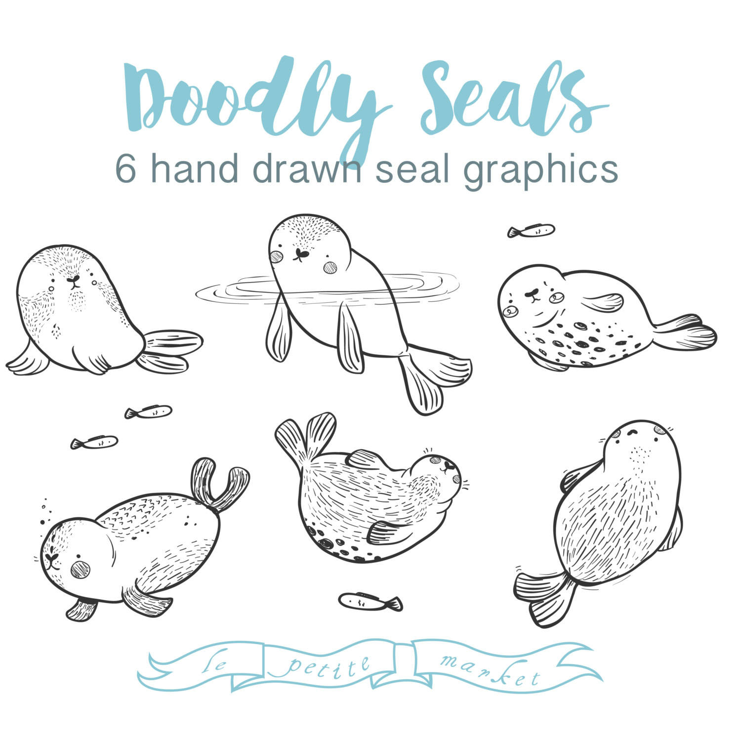 Baby Animal clipart hand drawn Cute Drawn Drawn  Images