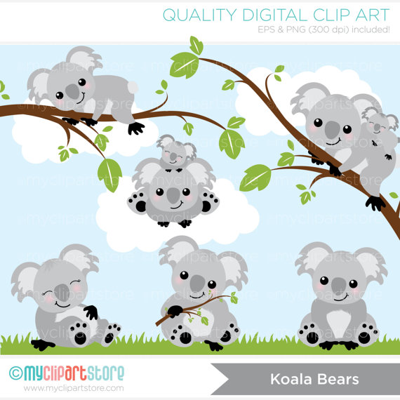 Bear clipart teddy bear Bears Clip Clip Koala $4