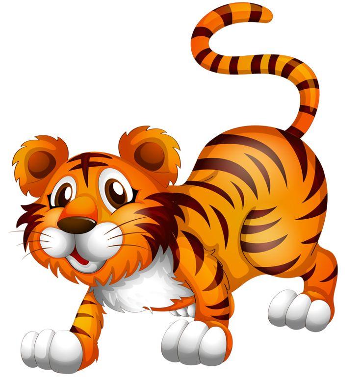 Baby Animal clipart tiger tail MailWild AnimalsJournal Фотки ArtBaby BENGALA'S