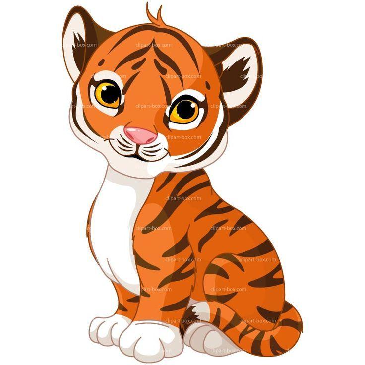 Baby Animal clipart tiger tail Clip Art Tiger Pinterest Panda