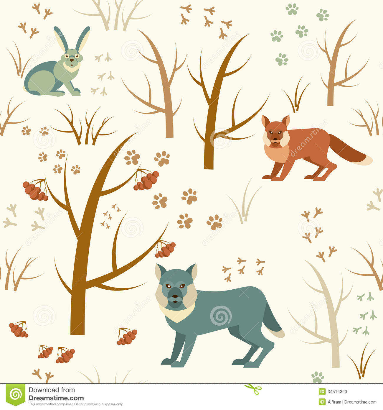 Winter clipart winter animal Animal Winter Clipart photo#5 clipart