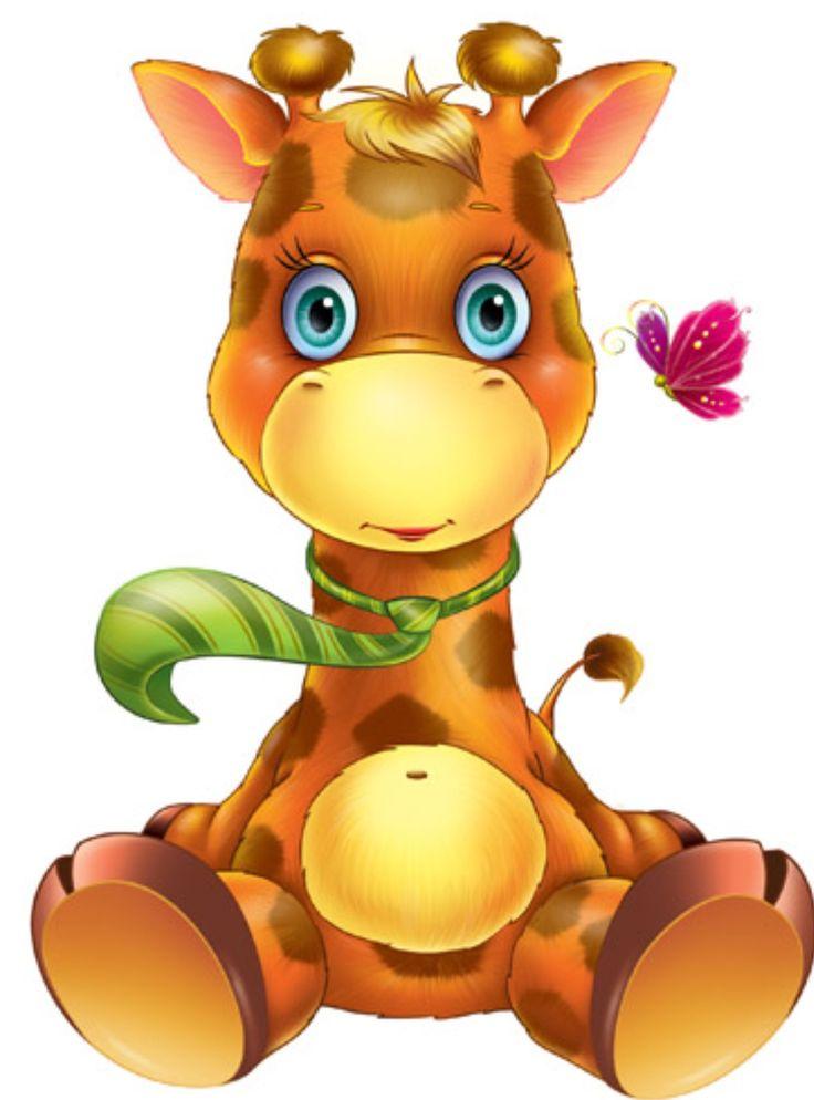 Baby Animal clipart wooden Giraffe Pinterest ArtWood on AnimalsCartoon