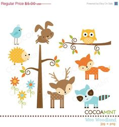 Baby Animal clipart wooden Cute Album aw_woodland_owl Pinterest clip