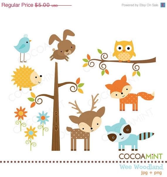 Winter clipart creature Animals Pinterest woodland  and