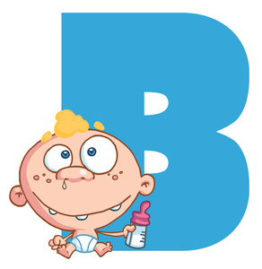 Baby clipart alphabet For Image Baby is Alphabet