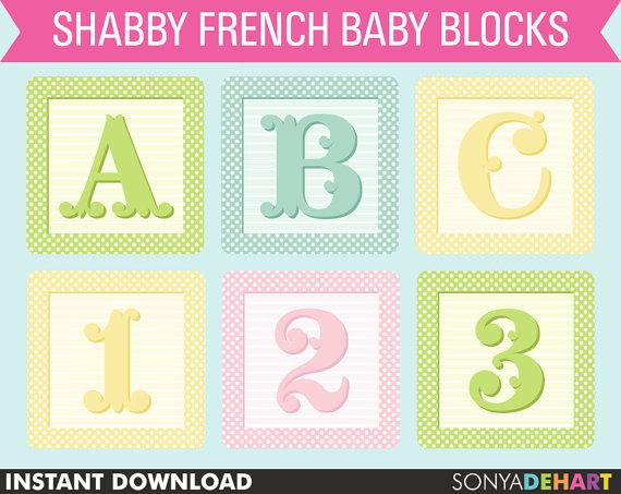 Baby clipart alphabet Baby Baby Block Clip Art