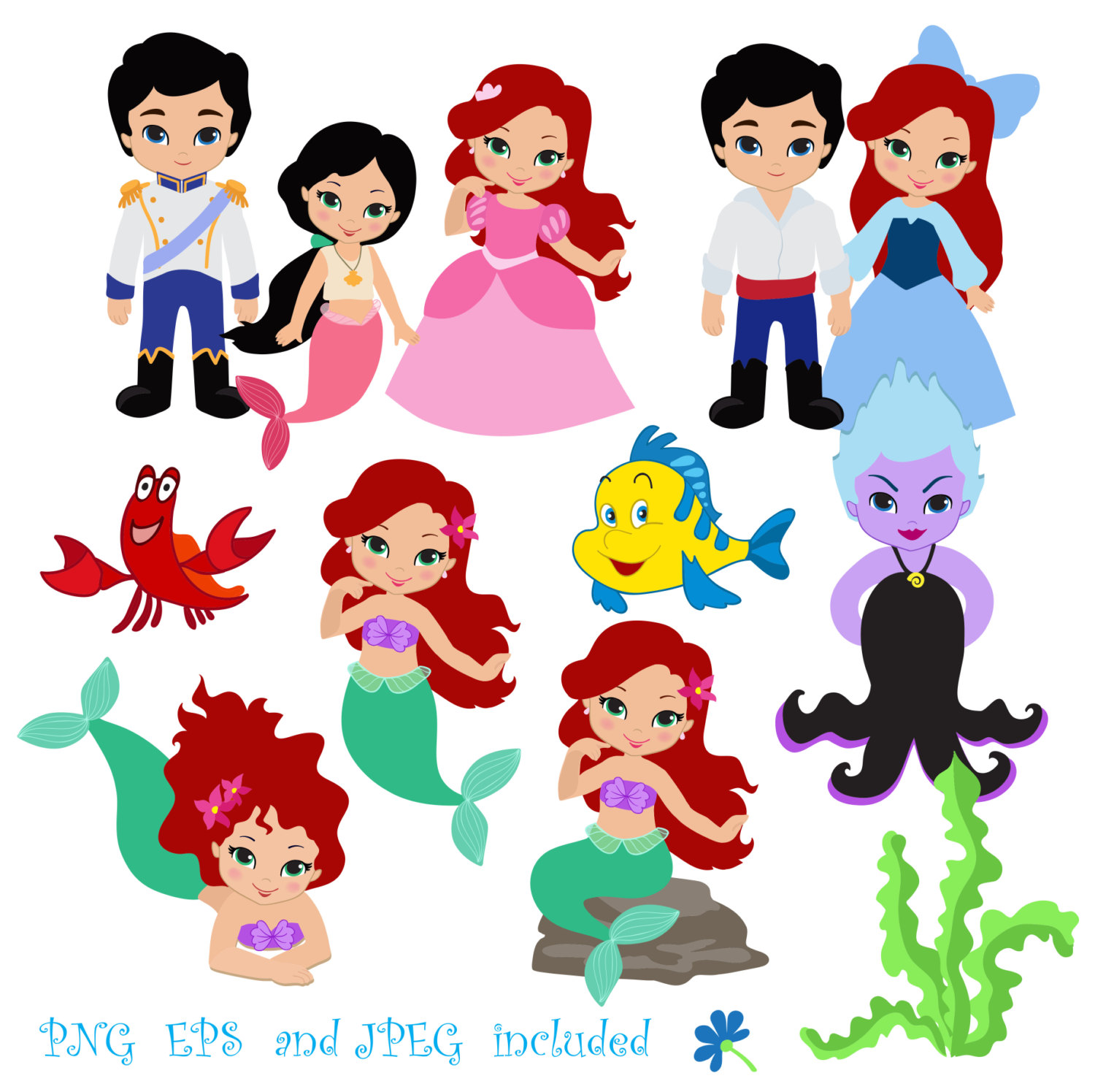 Baby clipart ariel Baby clipart Baby Ariel Clipart