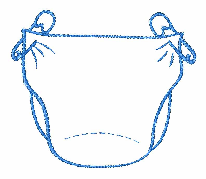 Baby clipart diaper Diaper Clipart Free Clipartix clipart