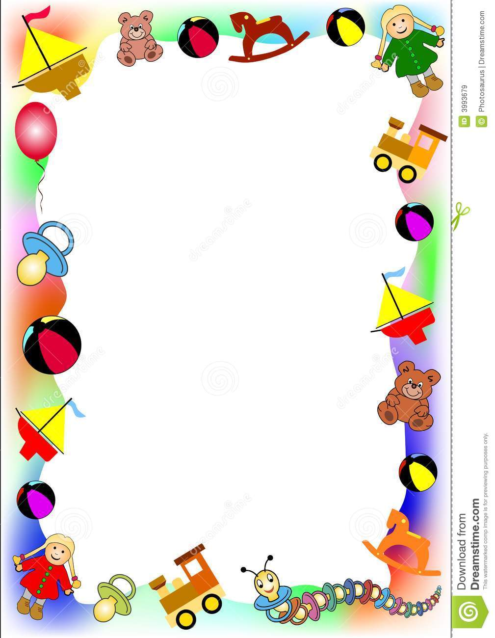 Baby clipart frame  to clipart Free borders