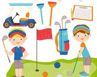 Easter clipart golf #1