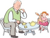 Baby clipart grandpa With Clipart Baby Grandpa Clipart