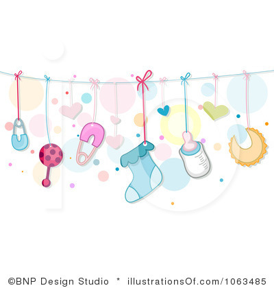 Baby clipart laundry line Baby Clothesline Clipart cliparts Clothesline
