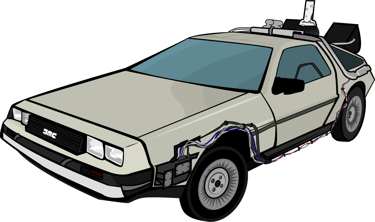 Back To The Future clipart tot he future To Future  Clipart The