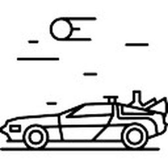 Back To The Future clipart To Back Future the Vector