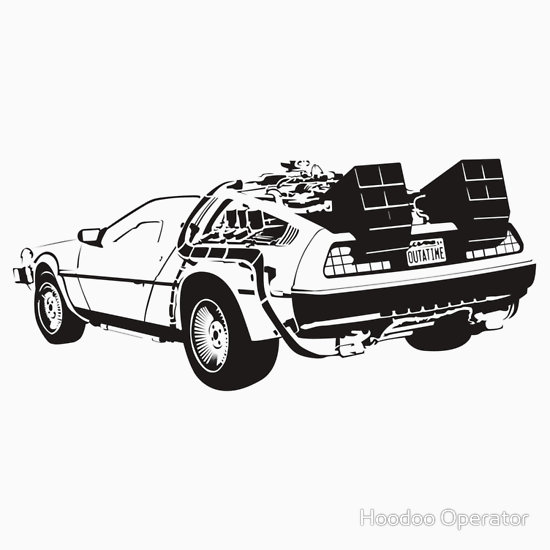 Back To The Future clipart tot he future Art – Future Movie the