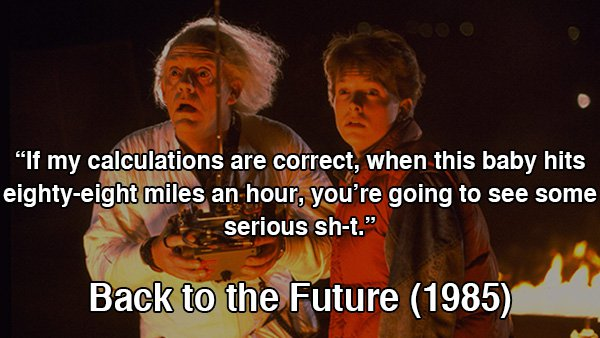 Back To The Future clipart 80's Greatest walk movie 1980's the