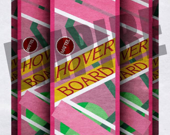 Back To The Future clipart board ORIGINAL Future board Hover LIMITED