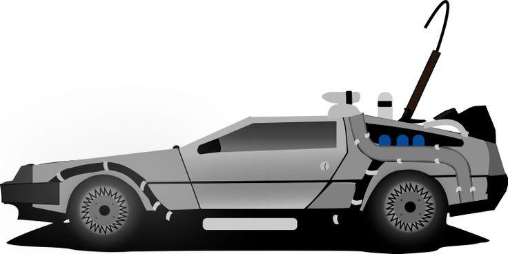 Back To The Future clipart delorean Firetrucks Clipart To Car